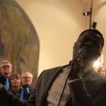 Konsert tillsammans med Walter Owens i Listerby kyrka 31 januari. Foto: Martina Karlsson
