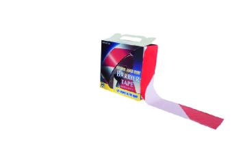 Avspärrningsband vit/röd - Avspärrningsband vit/röd 100m