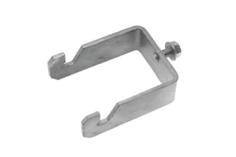 Snabbklammer fyrkantsrör (enkel) - Snabbklammer 60mm