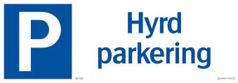 Hyrd parkering - Hyrd parkering 297x105mm
