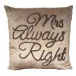 Kudde Mrs always right