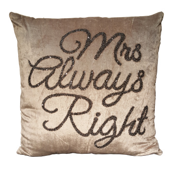 Kudde Mrs always right -