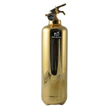 Brandsläckare guld -