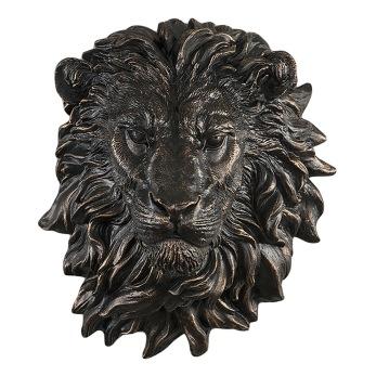 Lejonhuvud vägg -