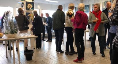 Vernissage på Galleri 12A i Höganäs