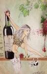 Leopardkvinnan i akryl_Lena Janen