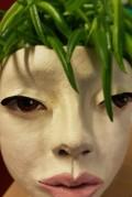 Krukhuvud i keramik Maria Knutsson