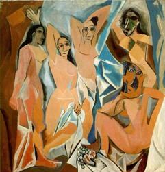 Flickorna från Avignon av Pablo Picasso
