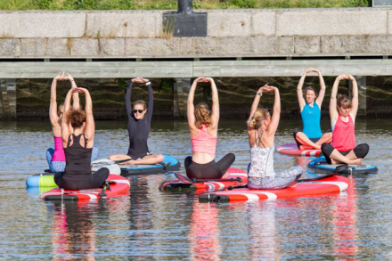 SUP Yoga utbildning. SUP i Göteborg. SUP Yoga i Göteborg.