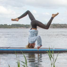 SUP Yoga utbildning. SUP Yoga i Göteborg. Board Yoga Sweden. SUP i Göteborg.