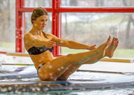 Board Yoga - inomhus i Göteborg.