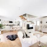 Vardagsrum/kök stora huset