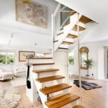 Trapp till ovanvåning stora huset