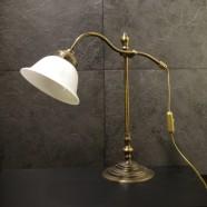 Bordlampa 7453 oxid/vit