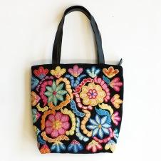 Väska Blommig