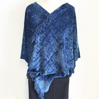Bambuponcho Denim -