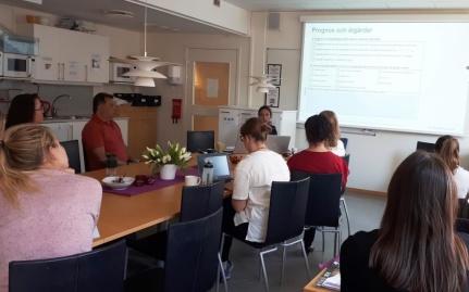 Workshopen den 22 maj hölls i Sollentuna kommun.