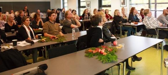 Frukostmötet samlade många intresserade deltagare. Foto: Micka Hahne
