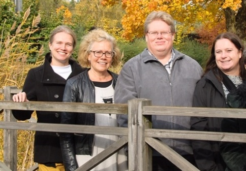 Elsa Lundqvist, Kirsi Poikolainen, Roger Sjöberg och Maria Anger.