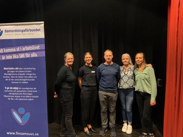 Medverkande: Ingrid Palmberg från Parasoll, Johanna Thunholm från Sollentuna psykiatriska mottagning, Vladimir Savecs, Cecilia Brolund och Lisa Sjölin från Sigtuna/Upplands Väsby psykiatriska mottagning.