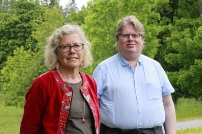Samordningsförbundets kansli Kipa Poikolainen och Roger Sjöberg