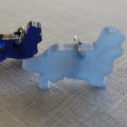 Hunder, Cavalier King i blått