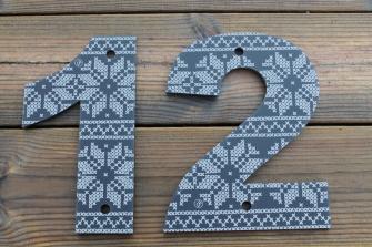 Pynt opp ditt hus eller hytte med elegant husnummer