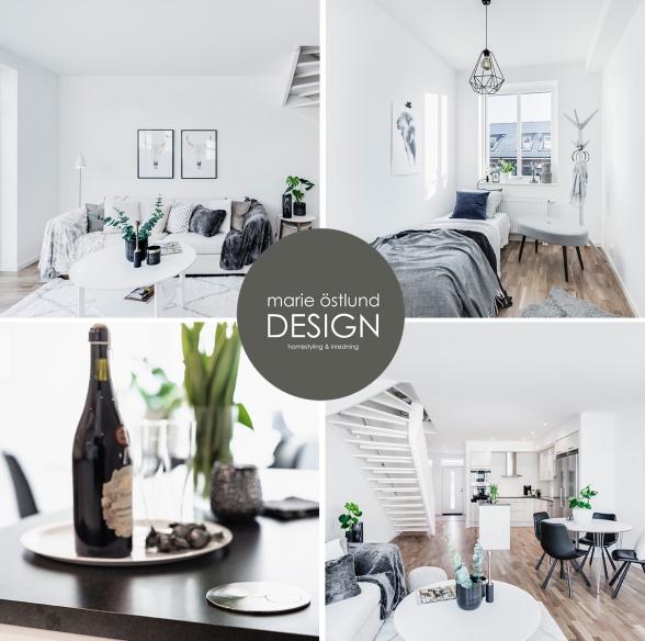 Homestyling & Inredning av lägenhet på Saltsjövägen i Halmstad - HOmestyling av Marie Östlund Design