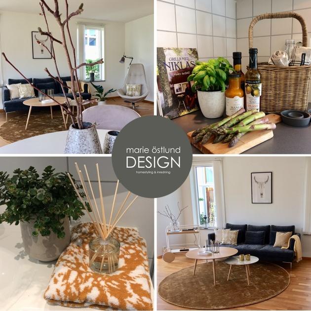 Homestyling av tom lägenhet Tylösand - Marie Östlund Design Halmstad