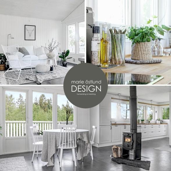 Homestyling & Inredning Halmstad- Homestyling av inredare Marie Östlund Design Halmstad