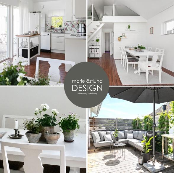 Homestyling av stuga utanför Halmstad - Homestyling av Marie Östlund Design Halmstad