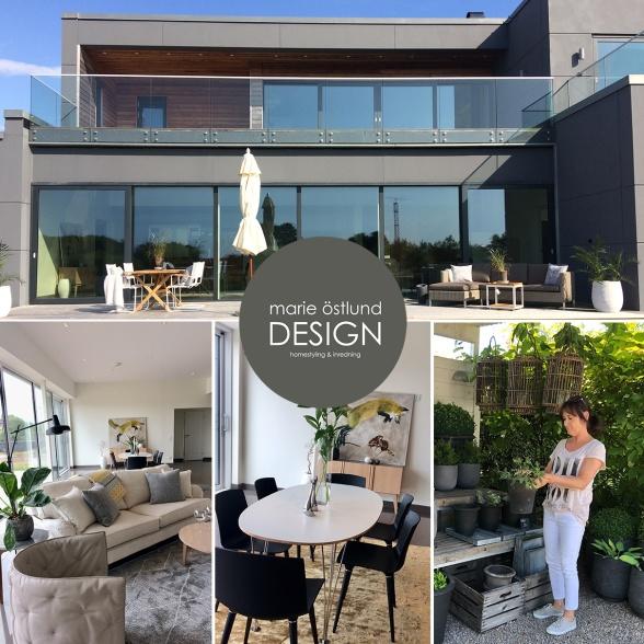 Homestyling av villa i Skummeslöv - Homestyling Marie Östlund Design Halmstad