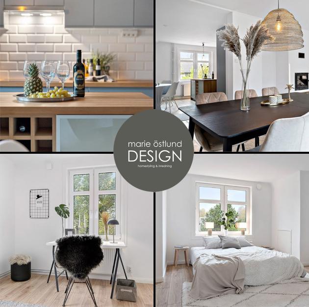 Homestyling villa i Halmstad - Marie Östlund Design