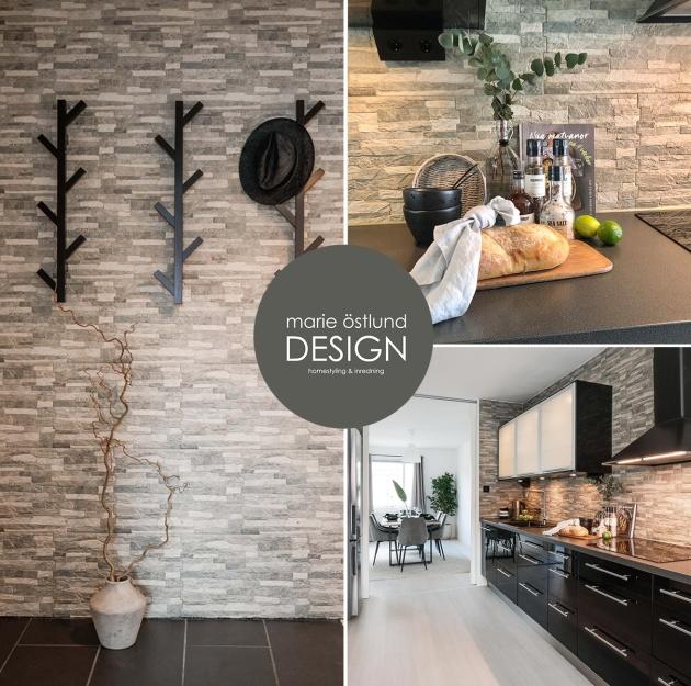 Styling av 3-rumslägenhet i Halmstad - Homestyling av Marie Östlund Design