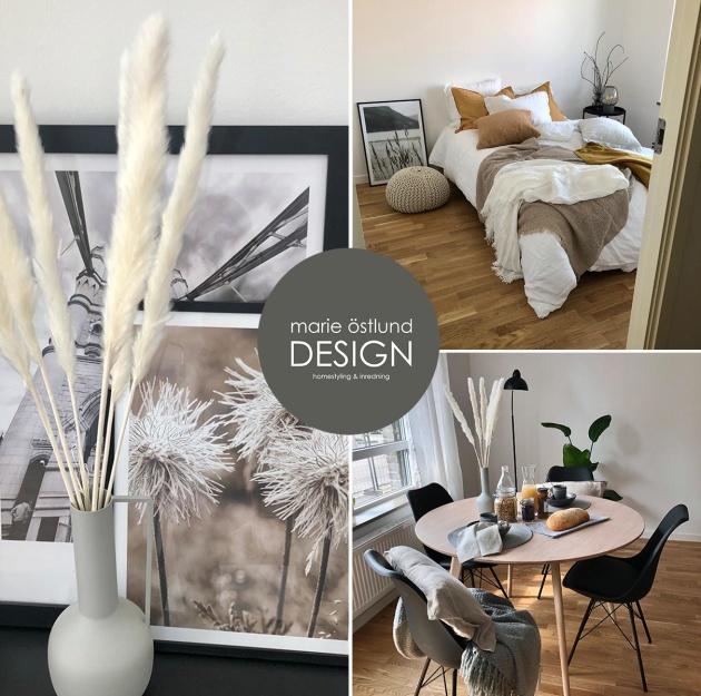 Homestyling av visningslägenhet i HFAB's nyproduktion på Fyllinge i Halmstad - Homestyling Marie Östlund Design