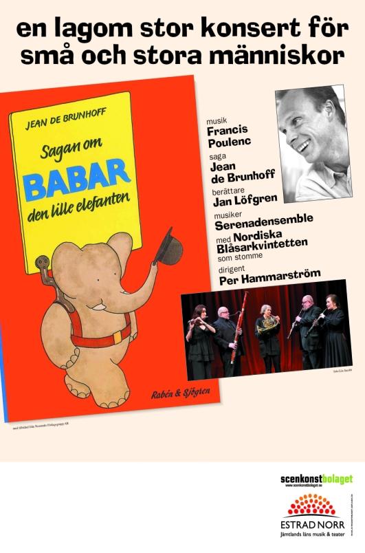 Babar omslag med tillstånd från Norstedts Förlagsgrupp AB