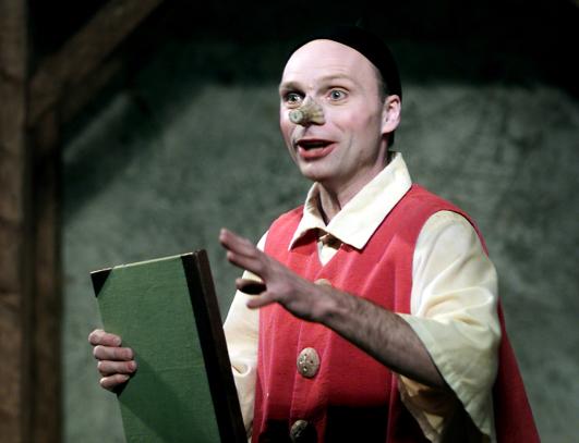 Jan Löfgren som Pinocchio