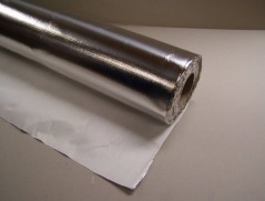 Glasscloth with aluminium foil