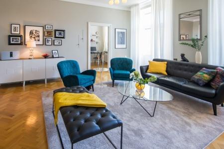 Lägenhet med touch av Art-Deco