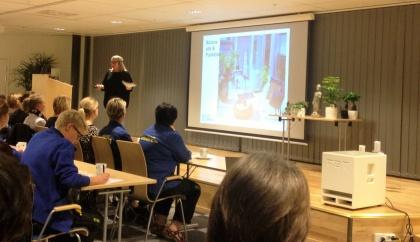 Myhres & Coeys föreläsningar med inredning i fokus är perfekt för t.ex företagseventet som här hos Gekås i Ullared, Halland
