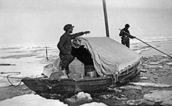 Säljägare från norra Sverige och Finland tillbringade flera månaderpå Bottenviken isvidder i jakten på säl.