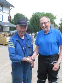 Arne Kring och Rolf Markström i samspråk