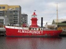 …....men så här skamfilad var hon, när hon kom till Gävle, efter bland annat ha slitit sig från bogserfartyget