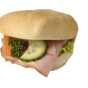 Skinka- & Ostfralla mörkt bröd