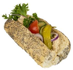 Baguette med kebabröra