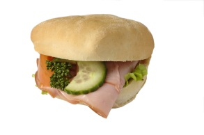 Skinka- & Ostfralla ljust bröd