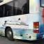 Helfolierad buss till Flygbussarna Charter.