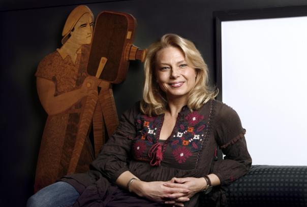 Helena Bergström, regissör.