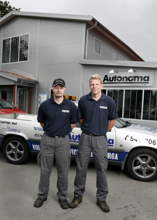 Peter Skantz och Peter Groth, Autonoma Bil AB.