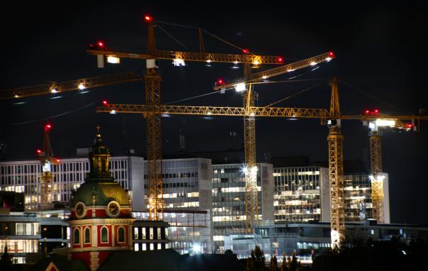 Stockholm, urban förtätning.